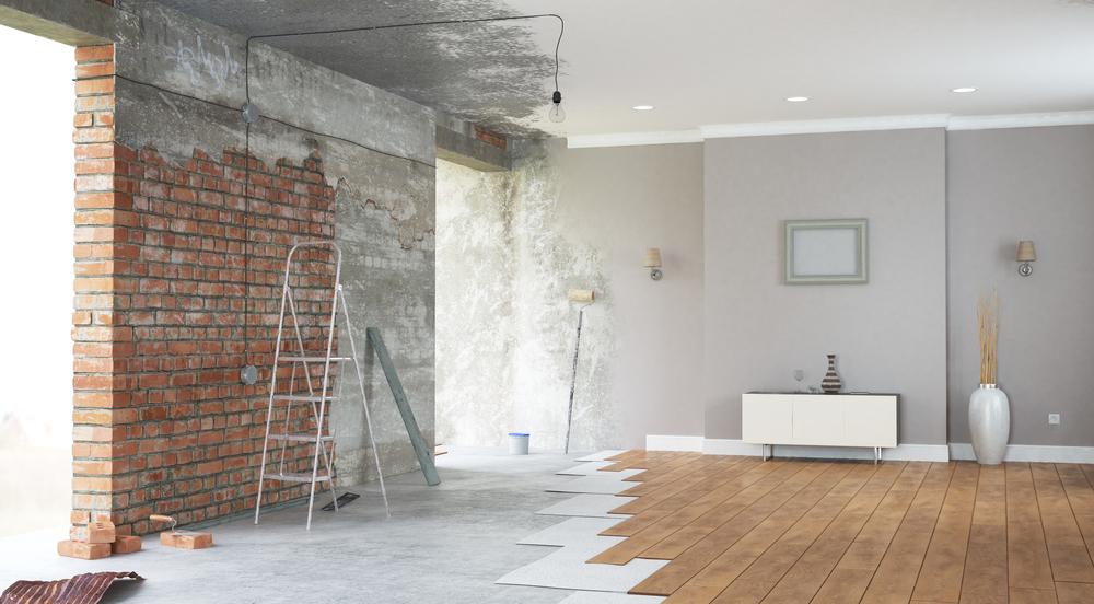 Rénovation complète de maison, un projet souvent moins cher